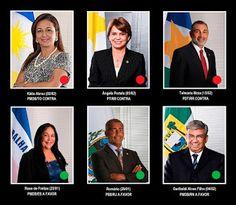 Blog dos Aquarianos: Impeachment: como votam os 6 senadores aquarianos?...