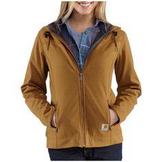 Women's Carhartt® Bainbridge Jacket. Comfortable, warm, and stylish, too!