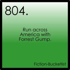 #804. Eat Bubba's scrimp and meet Jenny.... Forrest Gump <3
