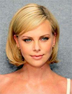 #CharlizeTheron cropped hair