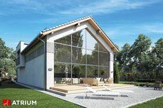 Projekt Vetro - elewacja domu