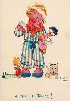 Béatrice Mallet - Illustration Humoristique