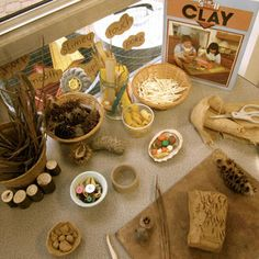 Additions for the clay at Early Life Foundations