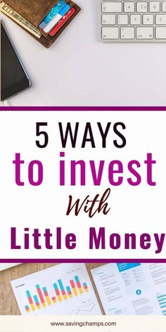 How to invest with little money You don't have to have a large amount of money to make an investment. Here are 5 best ways to invest with little money and make money in the long term. Ways To Save Money, Money Tips, Money Saving Tips, Make Money Online, How To Make Money, Robinhood App, Peer To Peer Lending, Lending Company, Best Way To Invest
