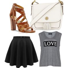 Untitled #442 by evanmonster on Polyvore featuring polyvore fashion style Carmakoma Dolce Vita Tory Burch