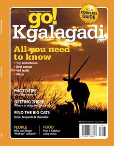 Get your digital subscription/issue of go! Magazine on Magzter and enjoy reading the Magazine on iPad, iPhone, Android devices and the web. Go Guide, Trail Maps, Travel And Leisure, Africa Travel, Photo Tips, Spice Things Up, Need To Know, The Help, You Got This