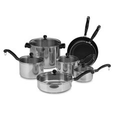 Farberware® Classic Series II Stainless Steel 12-Piece Cookware Set and Open Stock - Bed Bath & Beyond