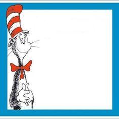 Dr. Seuss Clip Art Border   Organization - Real Classroom Ideas