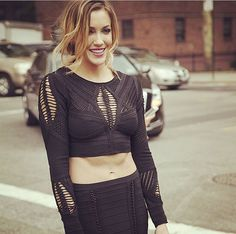 Actress Katie Cassidy Shares Her #NYFW Diary | See how the actress gets #UpNOut for the NYC streets.