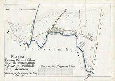 Mappa Partem Pascui Csabensis, et ibi contentarum Sylvarum D... [BéML XV 1 a 11]…
