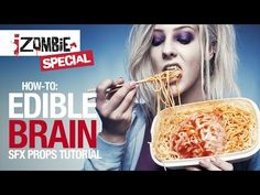 How-to: iZombie edible brain tutorial - YouTube