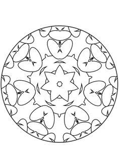 7 meilleures images du tableau mandalas maternelle - Coloriage mandala maternelle ...