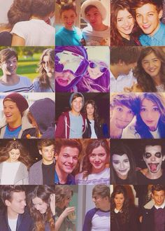 @Eleanor Calder  and @Louis Tomlinson I can not even tell you how hard I ship you two. Love you both so much. And Eleanor you are my absolute role model and I love you so much.