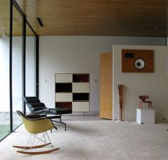 Charles and Ray Eames, Case Study House 9, Entenza House