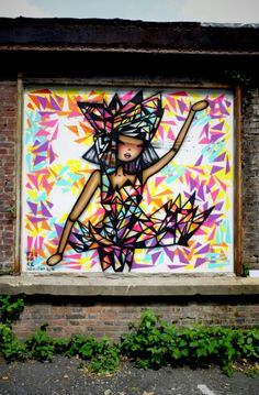 Stoul - street art - In situ art festival, Fort d'Aubervilliers (17 mai au 14 juillet 2014)