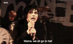MAMA, WE ALL GO TO HELL. My Chemical Romance Lyrics MCR XD