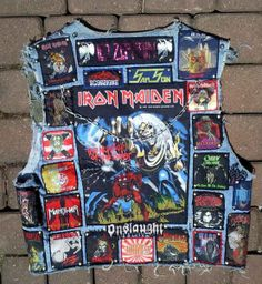 jackets fashion chicks dude am a rocker bent for leather and leather Men's Leather Jacket, Biker Leather, Leather Men, Leather Jackets, Hard Rock, Heavy Metal Patches, Punk Subculture, Pride And Glory, Heavy Metal Fashion