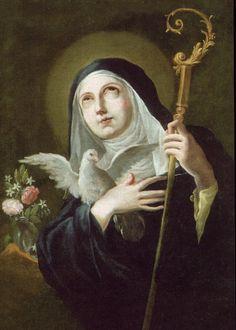 Santa Escolástica, Hermana de San Benito Abad