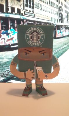 coffee paper toy1