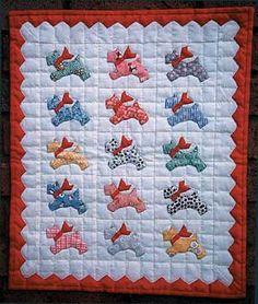 Scotty Dog Quilt