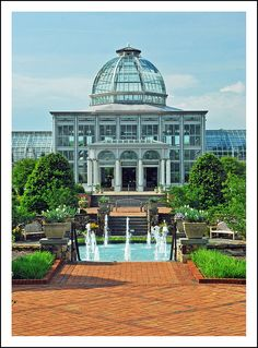 Lewis Ginter Botanical Garden Is a private botanical garden in Henrico County at the north edge of Richmond, Virginia, USA