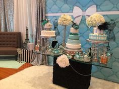 Tiffany Quinceañera Party Ideas | Photo 1 of 22