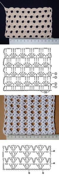 Crochet pattern. Unfortunately no tutorial or link (comes from a closed Russian blog). Beautiful though. Worth trying to make based on the picture pattern.