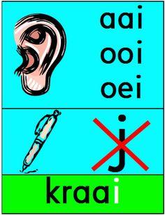 Spelling aai ooi oei Schoolflip by Judy Goedhart Spelling Word Practice, Spelling Games, Spelling Activities, Spelling Words, Listening Activities, Vocabulary Strategies, Vocabulary Games, Learn Dutch, Dutch Language