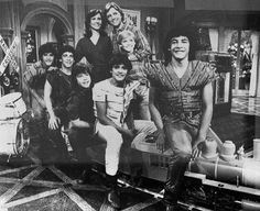 """""""Menudo appears on """"Silver Spoons."""" July 1983.""""  Menudo, Ricky AND the miniature train...brilliant."""