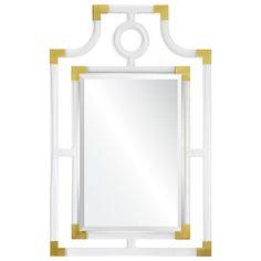 Mirror Image Home Acrylic Geometric Brass Mirror #laylagrayce