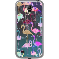 After Dark Flamingo Party Par Nikki Strange  pour Samsung  Galaxy S4 mini