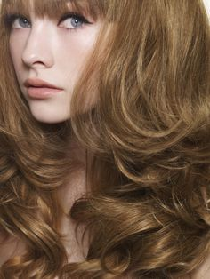 Breathtaking...Love how natural this hair color looks.