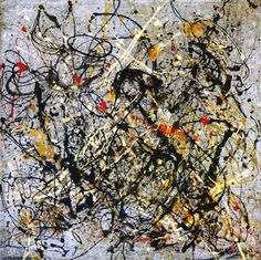 Number 18  (1950) Jackson Pollock more works by this artist Purchase Print of this Artwork