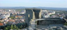 Castle of Castelo Branco. built by the Knights Templar in the 13th century and extended by Dom Dinis.
