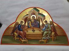 Orthodox Icons, Ikon, Angels, Scene, Princess Zelda, Fictional Characters, Art, Art Background, Kunst