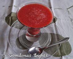 Comilonas Lights: Coulis de fresas