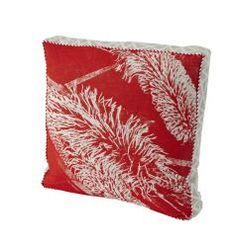 bonnie and neil red hakea cushion