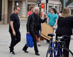 Jimmy Page Photos: Jimmy Page Buys Records in Boston