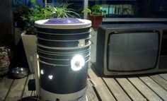 Example of a DIY Space Bucket for growing marijuana