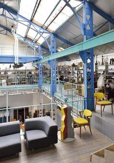 Industrial decor | More photos http://petitlien.fr/palmaresdeco
