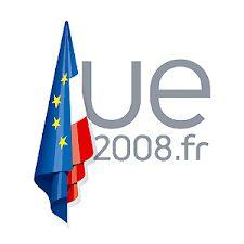France, July - December 2008 Union Européenne, France, History, Outdoor Decor, December, Logos, Historia, Logo, French