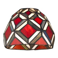 Design Classics Lighting Dome Tiffany Glass Shade - 1-5/8-inch fitter | GL1035 | Destination Lighting