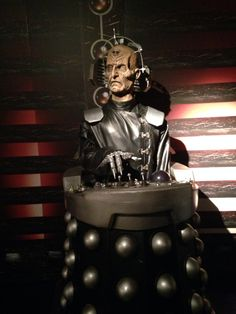 Davros at Doctor who experience, cardiff bay