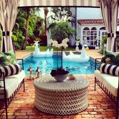 Elegant Pool and Summer Chic!