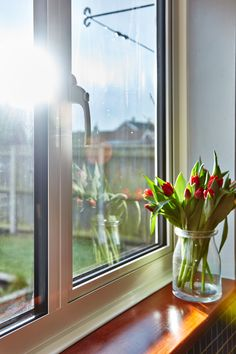 Check out our high quality Aluminium Casement Windows. Check out our range of casement windows - get a free quote today! Casement Windows, Windows And Doors, Window Glazing, Living Room Lounge, Aluminium Windows, Family Movie Night, Kitchens, Relax, Sweet