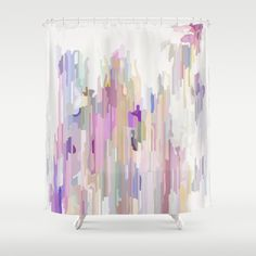 Wash the colours Shower Curtain by Three Of The Possessed - $68.00