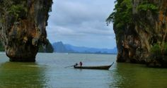 Riding a Longtail to James Bond Island, Thailand - PointsandTravel.com #desinationpinspiration