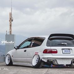 That camber tho  Sick pic  clean EG / / Owner: Tag! / Photographer: @gabo_pm / /  #sjaak_jdm…