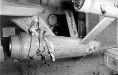 """""""Enterprise after being reassembled at the Smithsonian."""
