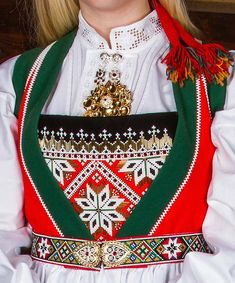 Bunad og Stakkastovo AS Hardanger Embroidery, Beadwork, Christmas Sweaters, Clothing, Accessories, Fashion, Tall Clothing, Culture, Moda